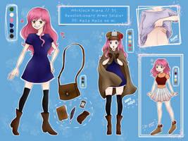 Whitlock Kiara // One Piece OC by ronniethemermaid