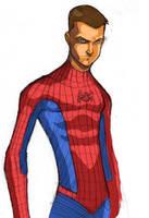 Peter Parker Spiderman by GreeneLantern