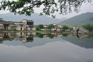 Reflect in the Village of Hongcun by AnimeVeteran