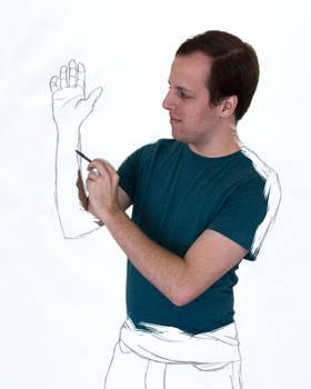Sketch Self by AnimeVeteran