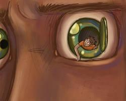 'Sortir par les yeux' by Ptirat