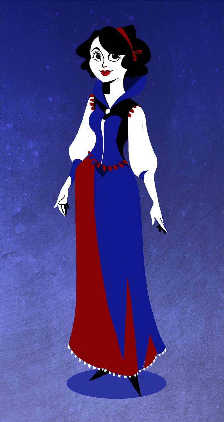 Snow White by Ptirat