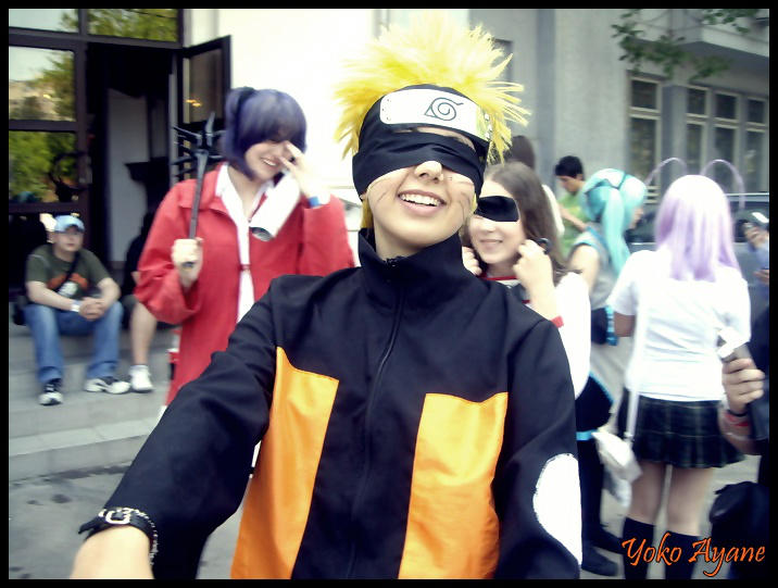 Funny Naruto Cosplay By Yokoayane On Deviantart