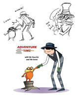 The Lorax Doodles by Hesbell