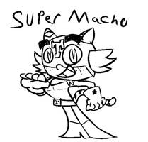 Super Macho Sketch 2! by ZeoLightning