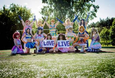 LoveLive! Cheer by FuzziePeachCosplay
