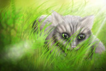 Hide and seek by KhaliaArt