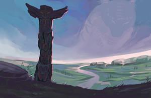 Spirit of the totem by Nieris