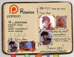 Patreon Rewards 15.06.2016 by Nieris