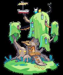 Adventure time - House by Nieris