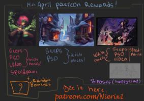 14 april patreon rewards by Nieris