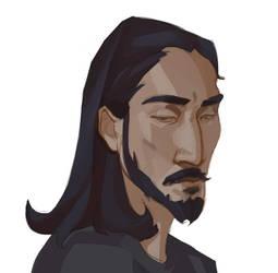 sketch portrait by Nieris