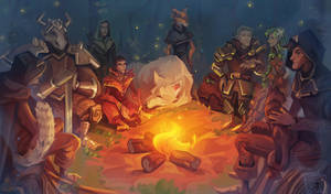 Fire tales by Nieris