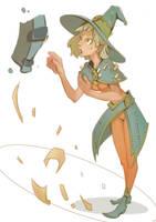 Witch-sketch by Nieris