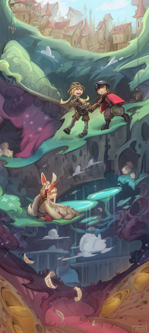 To the abyss  by Nieris