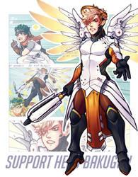 SUPPORT HERO: BAKUGOU by sonreiv