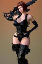 Linda combat gear 2 by ArchivistOmega