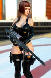 Linda combat gear 3 by ArchivistOmega