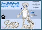 Neve Fluffehbutt (Simple Reference) by WintersSnowBlossom