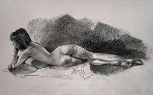 Figure Drawing 10 - Jana by yolque