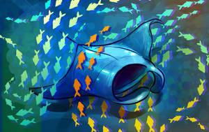 Manta Ray by yolque