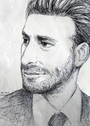 Dean O'Gorman Sketch by FrerinHagsolb