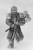 Dwarf Warrior by FrerinHagsolb