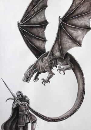 Facing the Beast by FrerinHagsolb