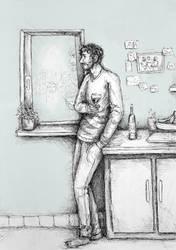 Von der Einsamkeit I by FrerinHagsolb