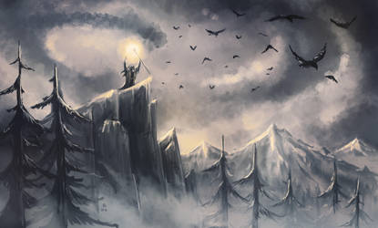 Sending out the Crows - Speedpaint by FrerinHagsolb