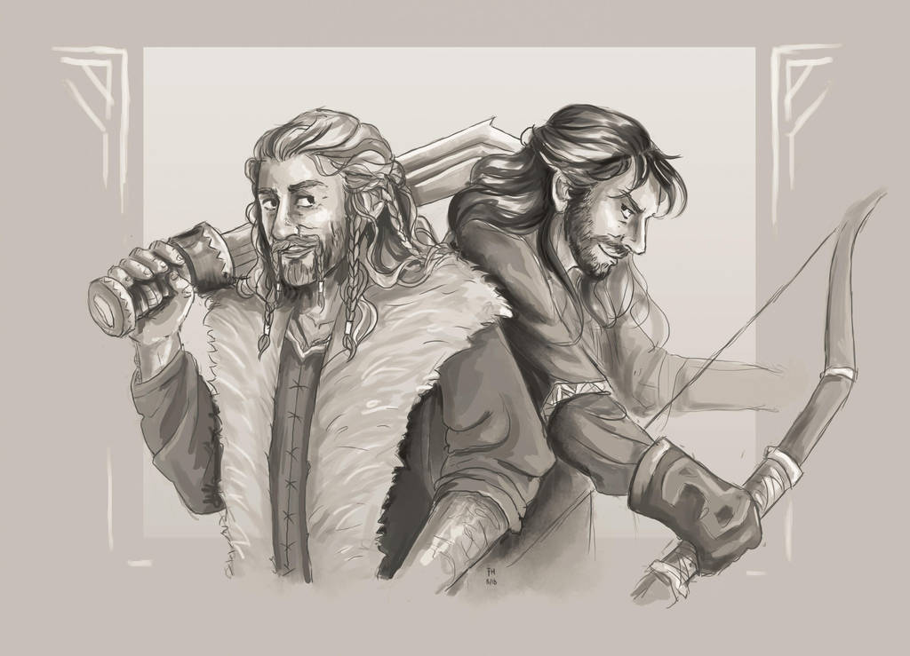 Durin Brothers (Speedpaint) by FrerinHagsolb