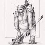 Drooling Troll [6] by FrerinHagsolb