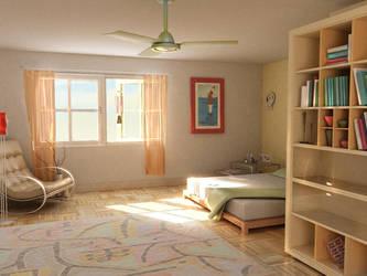 Bedroom by 3dfreaks