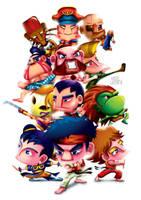 Street Fighter Fan Art by Seanleedesign