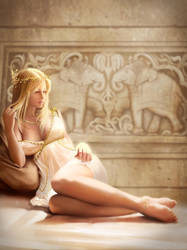 Helen of Troy by jasonlanart