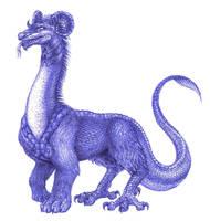 Dragon - Mushussu by FoolishLittleMortal