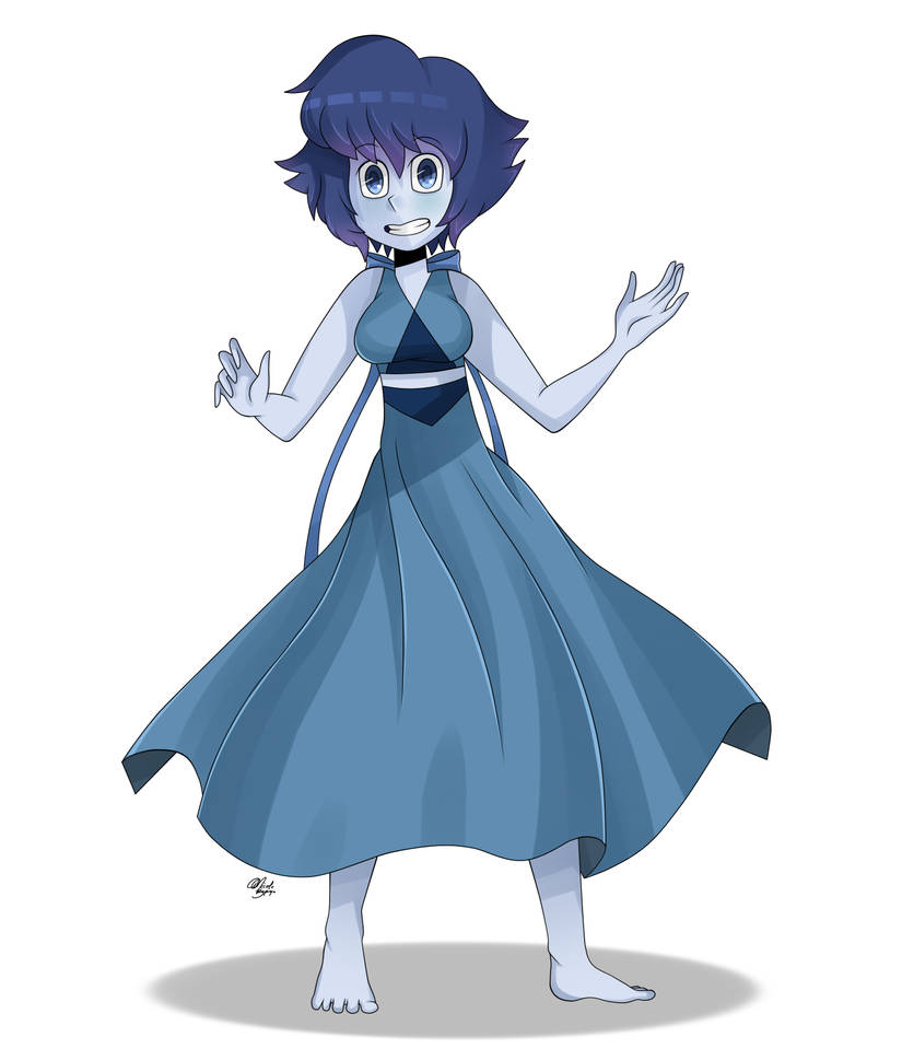 Lapis Lazuli from Steven Universe! I'm going to be trying out this new style for awhile. I hope you like it!