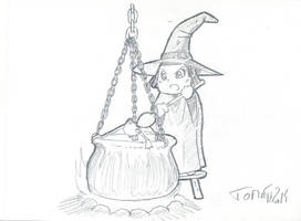 Witch_by_Tomatecannibal by tomatecannibal
