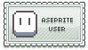 Stamp: Aseprite User by digirhys
