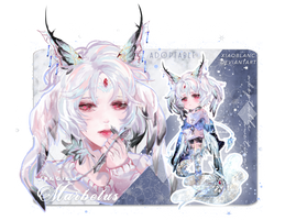 [CLOSED] Marbelus Adoptable by xiaoblanc