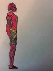 HellStorm Dragon Armor by Novabow347