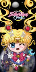 Sailor Moon page holder by JimeReynosoP