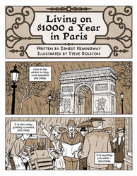 Living on $1000 a Year in Paris by steverolston