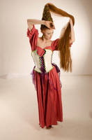 Lady Shalott Unrestricted Stock by artmaniabychristine
