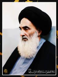 ayatoullah Sayed Ali Al Sistani by 70hassan07