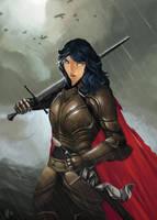 Knight by SarahJaneArt