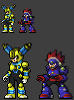 Blast man and Fuse man JUS style by Zeh1999