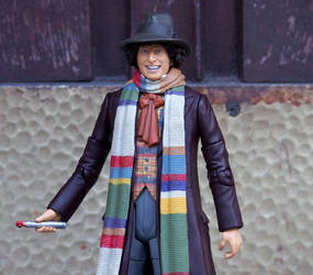 4th Doctor Tom Baker repaint 2 by LYazoo
