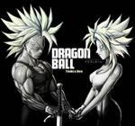 Trunks and Bura Super Saiyan by NovaSayajinGoku