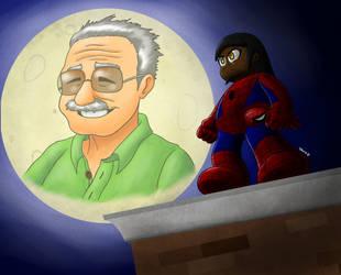 Tribute to Stan Lee by Dee-Artist